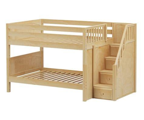 low bunk beds with stairs low bunk beds with stairs latitudebrowser