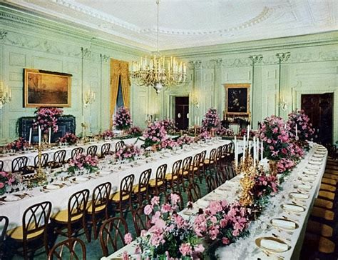 White House State Dining Room White House State Dining Room Note The Painting White House State Dining Room