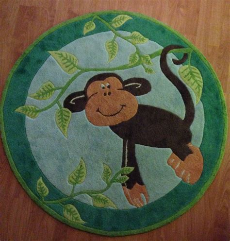 monkey rugs for nursery jungle themed rugs for nursery roselawnlutheran