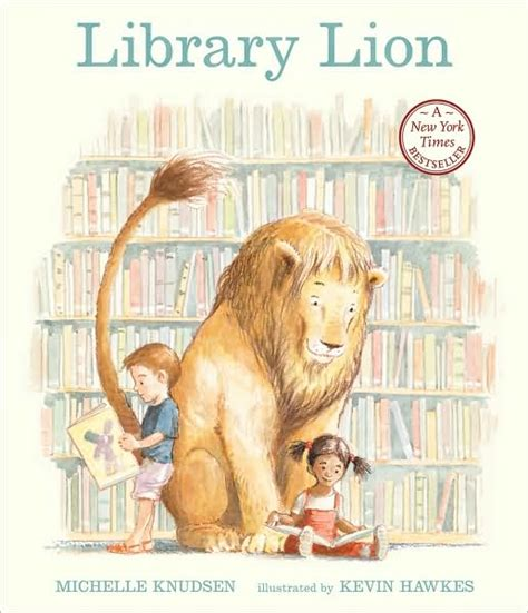 a cloud of daffodils library lion by michelle knudsen and kevin hawkes