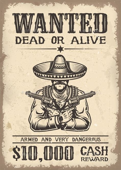 14 Western Wanted Poster Free Printable Word Pdf Psd Western Wanted Poster Template