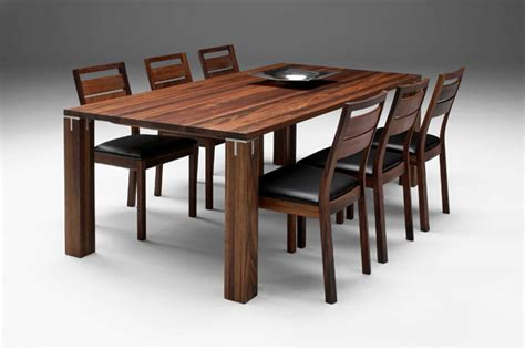 Modern Wood Dining Room Tables Modern Dining Room Tables Can Fit Any Colors And Themes