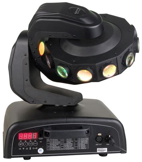Accu Mobil Spin american dj accu ufo rotating led moving light dmx