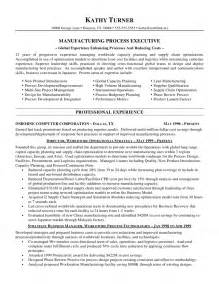 sample manufacturing resume manufacturing executive resume experienced manufacturing manager resume