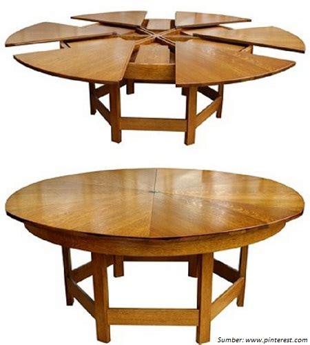 desain meja lipat kayu 5 desain meja makan multifungsi yang unik dan menarik