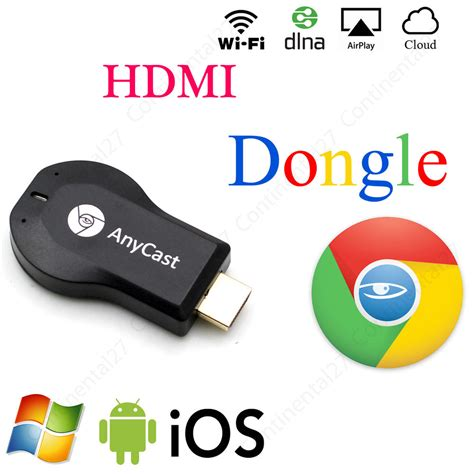 Anycast Hdmi Dongle By Ntl Shop anycast wifi display receiver miracast tv dongle hdmi dlna