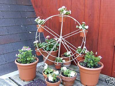 Flower Stand Ferris Gold ferris wheel flower pot holder plant stand nr 41029193