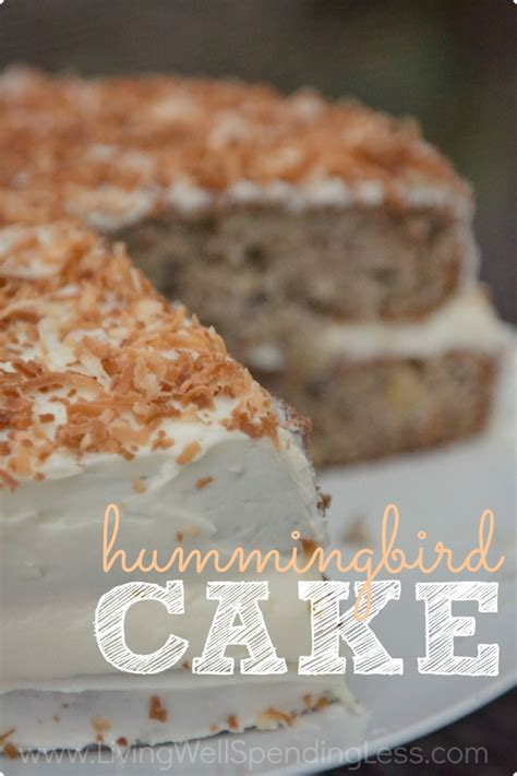 hummingbird cake recipe dishmaps