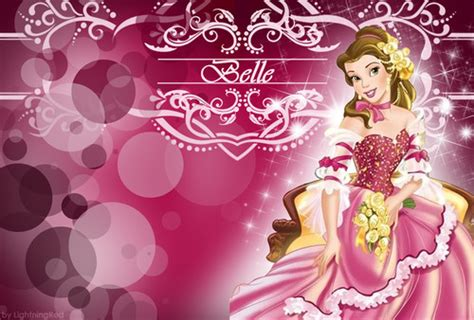 themes hd belle disney princess images pink belle wallpaper hd wallpaper