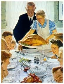 how was thanksgiving created norman rockwell thanksgiving dodge city dispatches
