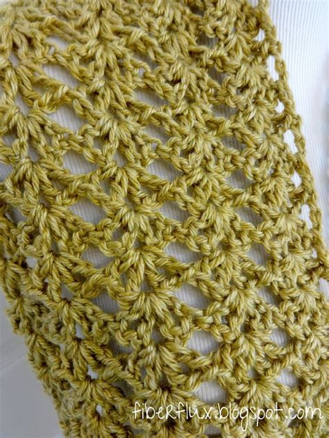 gold pattern scarf fiber flux adventures in stitching free crochet pattern