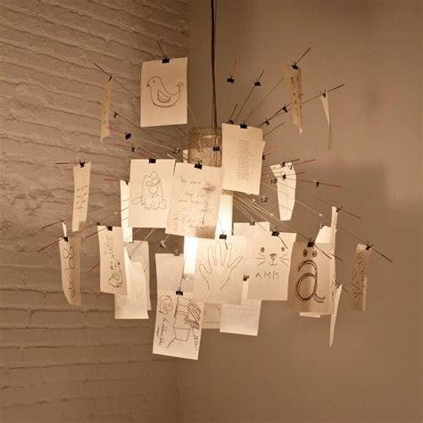 lustre papier japonais abat jour luminaire les annees 90