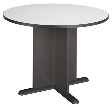 Series A Table by Series A Slate 42 Inch Conference Table From Bush