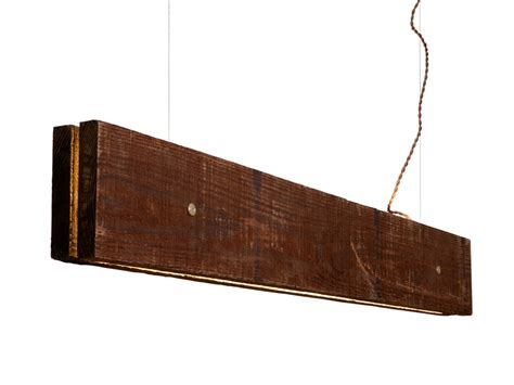 Wooden Light Fixture Plank Light Fixture Made From Wood