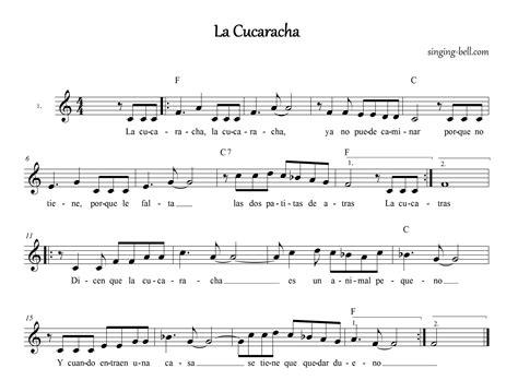 Spanish Floor free nursery rhymes gt la cucaracha free mp3 audio download