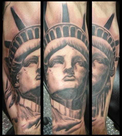 libertyville tattoo want a statue of liberty someday i like ink