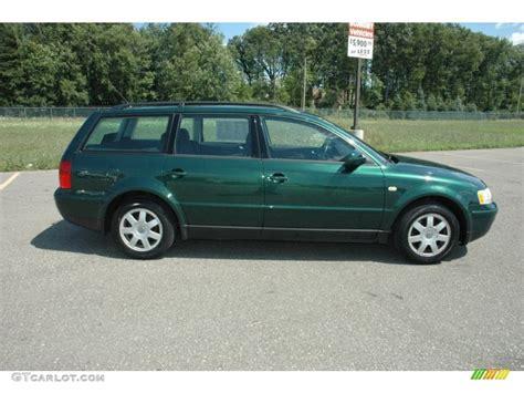 1999 Volkswagen Passat Wagon 1999 royal green pearl volkswagen passat gls wagon