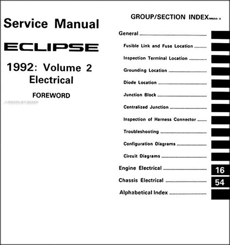service and repair manuals 1992 mitsubishi eclipse electronic valve timing 1992 mitsubishi eclipse repair shop manual set original