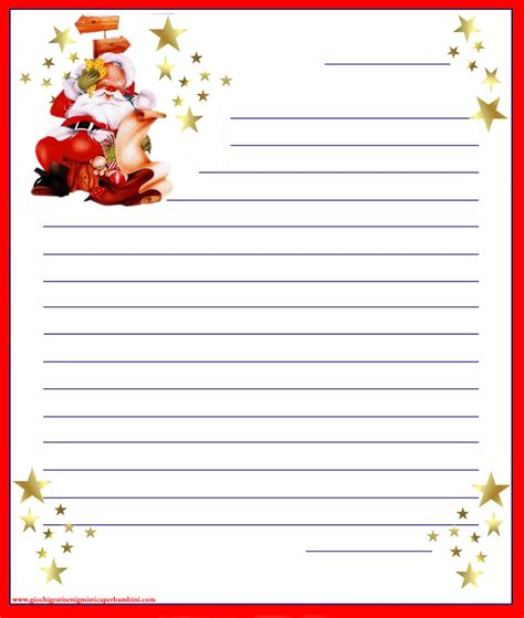 lettere natalizie lettera a babbo natale giochi per bambini