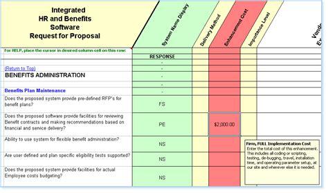 Hris Implementation Project Plan Template Hr Software Selection Rfp Human Resource Management Software