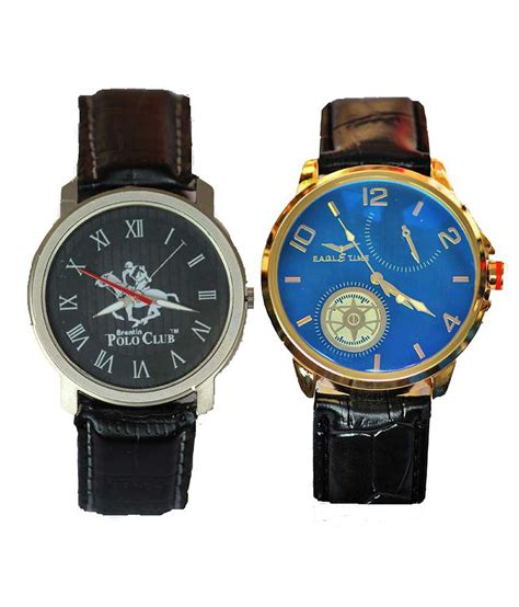 polo club s watches set of 2 price in india buy