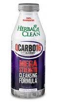 Qcarbo Liquid Detox by Qcarbo 16 Liquid Grape 16 Ounces Made By Herbal Clean