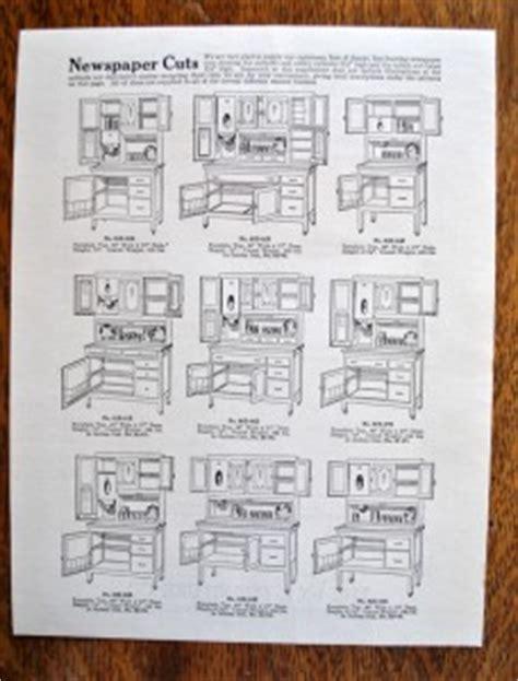 1927 original i xl kitchen furniture catalog hoosier