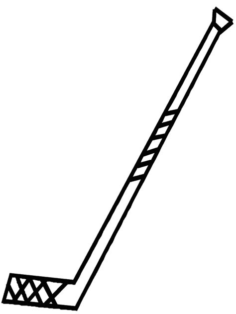 coloring pages of a hockey stick hockey coloring pages coloringpages1001 com