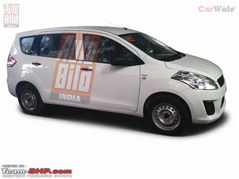 Maruti Suzuki New Car 7 Seater Scoop Pics Maruti Suzuki S New 7 Seater Mpv Ertiga
