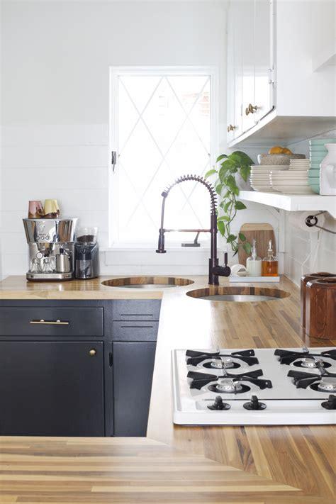 how to install butcher block countertop installing butcher block counters with an undermount sink