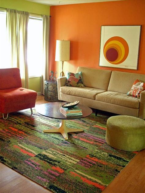 orange and green living room 17 best images about orange and green living room on damask curtains green and gray