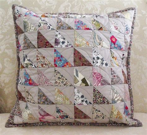 Patchwork Ideas For Cushions - best 25 patchwork cushion ideas on