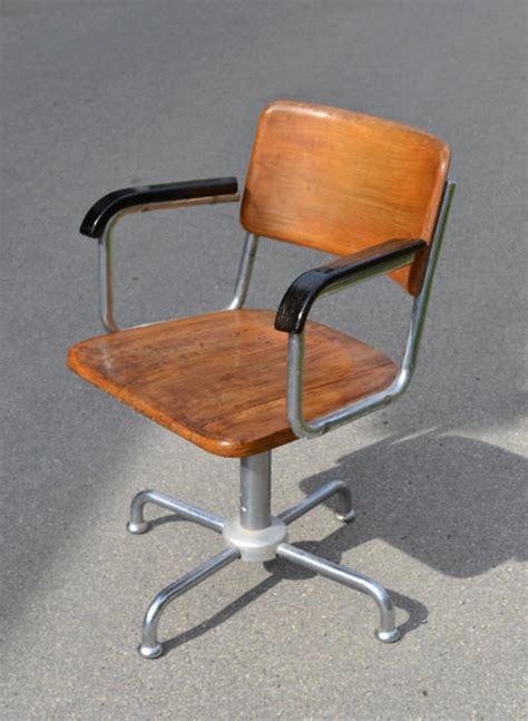 chaise bureau vintage chaise de bureau vintage roulettes