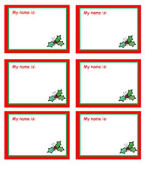 printable elf name tags santa name tags new calendar template site
