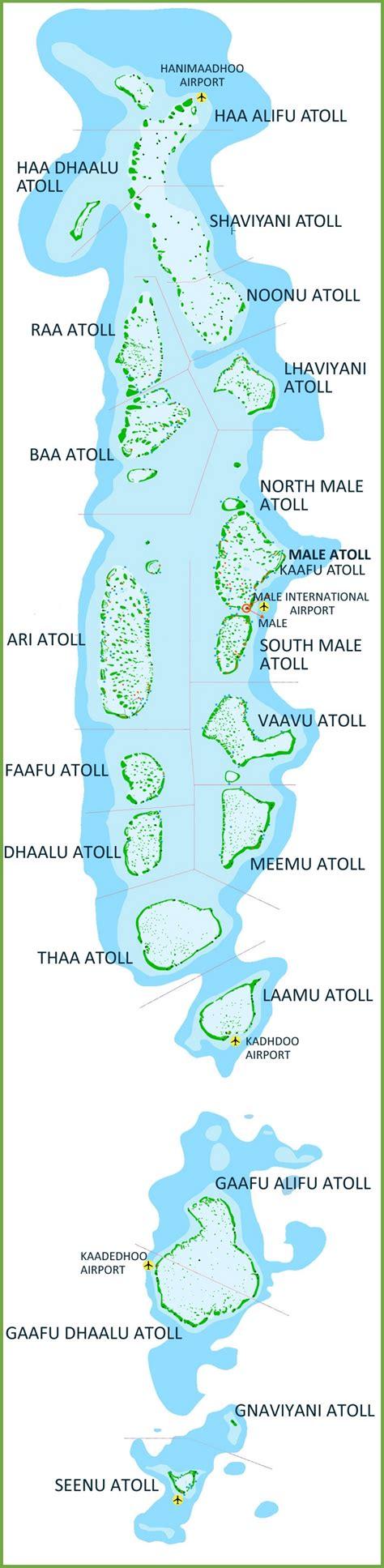 maldives atoll map