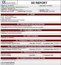 Non Conformance Report Form Template 8d report template bestsellerbookdb
