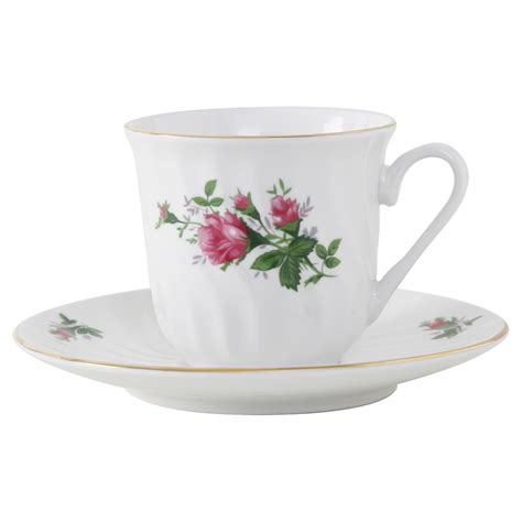 Tea Cup by Vintage Porcelain Teacup And Saucer Set Of 6