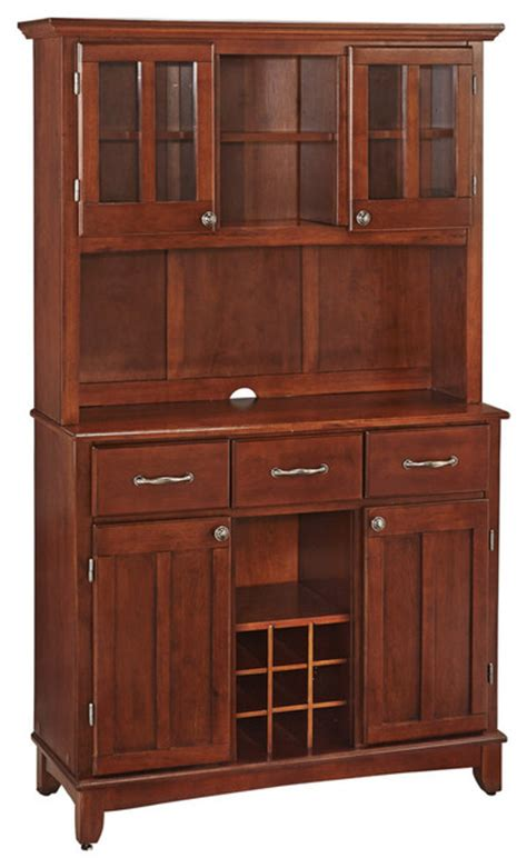 china buffet and hutch goddard buffet with wood top and hutch transitional china cabinets and hutches by home