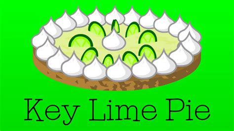 Key Lime Pie Clipart