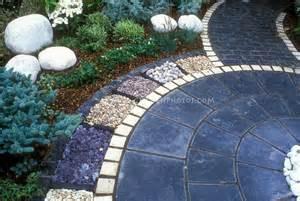 blue pavers patios walkways
