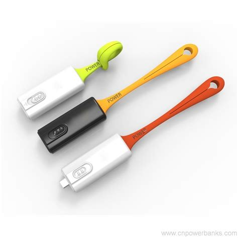 super small super small size power bank charger 500mah with hanging