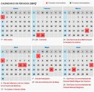 Calendario 2018 Con Feriados Uruguay Consult 225 El Calendario De Feriados 2017 De La Argentina