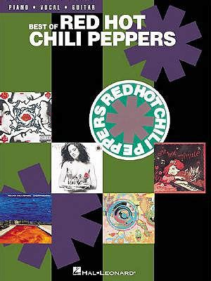 chili peppers best of 9780634023064 best of chili peppers