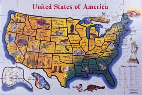 deluxe usa map puzzle bongo bons trusted by 767 customers in usa