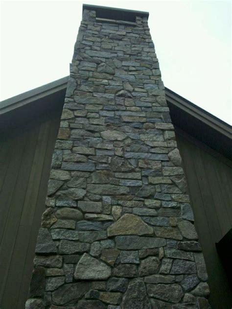 stone chimneys faux stone chimney wolcott for zulu pinterest