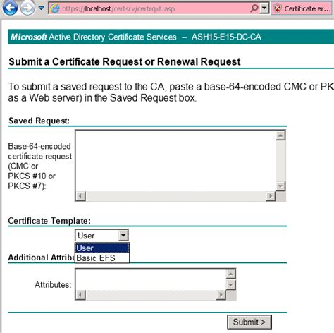 web server certificate template web server template missing troubleshooting exchange