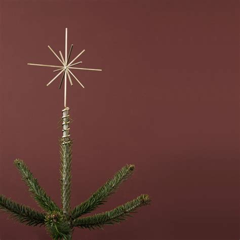christmas tree topper by ferm living in our shop