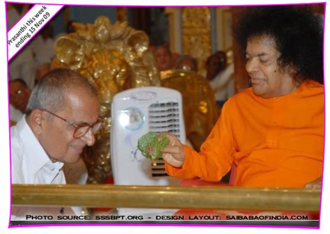 Greeting Card Sai Jumpa Bali Edition prasanthi this week november 2009 om sri sathya sai baba darshan news