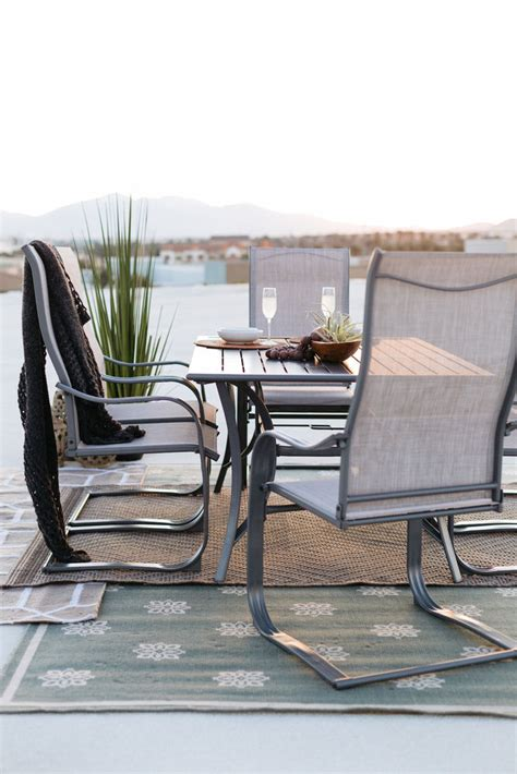 World Source Paulinus Patio Dining Set Mathis Brothers World Source Patio Furniture