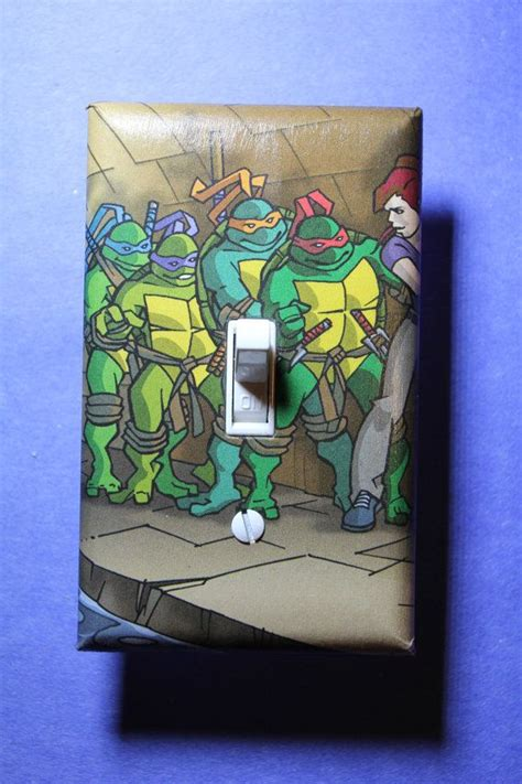 teenage mutant ninja turtles home decor teenage mutant ninja turtles tmnt light switch plate cover